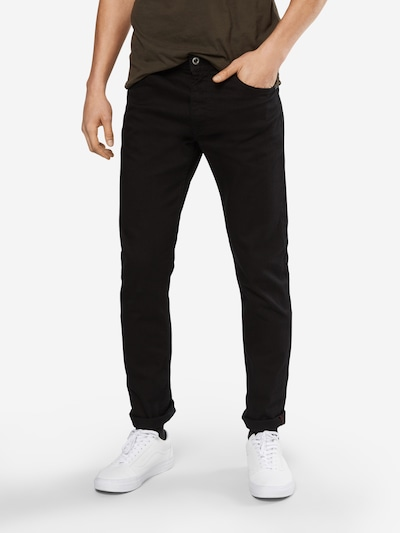 DIESEL Jeans 'Thommer' in black denim, Modelansicht