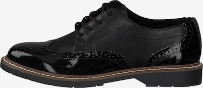 s.Oliver Lace-up shoe in black, Item view