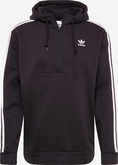 Megztinis be užsegimo '3-Stripes' iš ADIDAS ORIGINALS , spalva - margai juoda / balta, Prekių apžvalga
