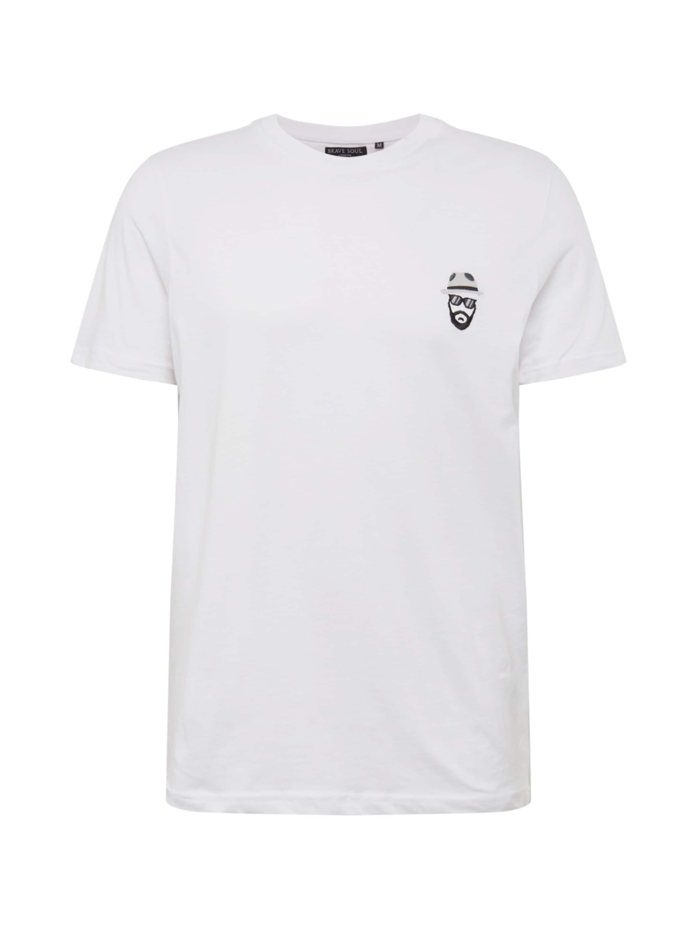En Soul Brave T shirt Blanc hsQrdt