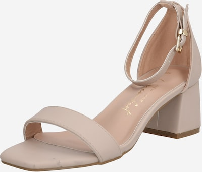 NEW LOOK Sandal 'ZANIEL 2 - PU 2PT BLOCK LOW' in beige, Item view