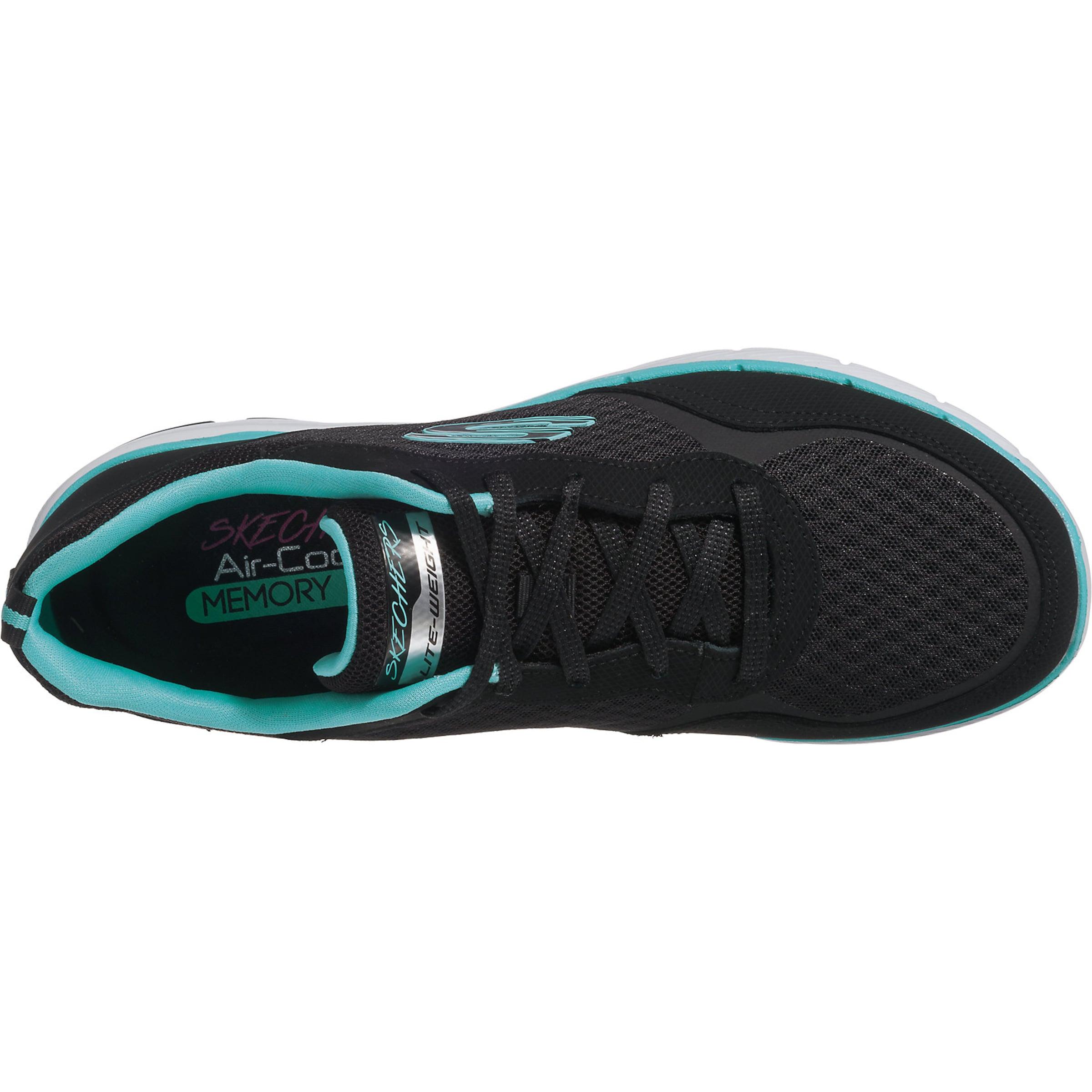 TürkisSchwarz 0' Skechers In Sneakers 'flex Appeal 3 b76gIyvYf