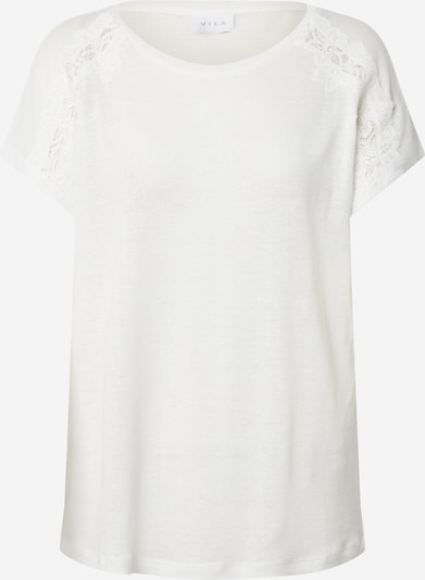 VILA Shirt in offwhite: Frontalansicht