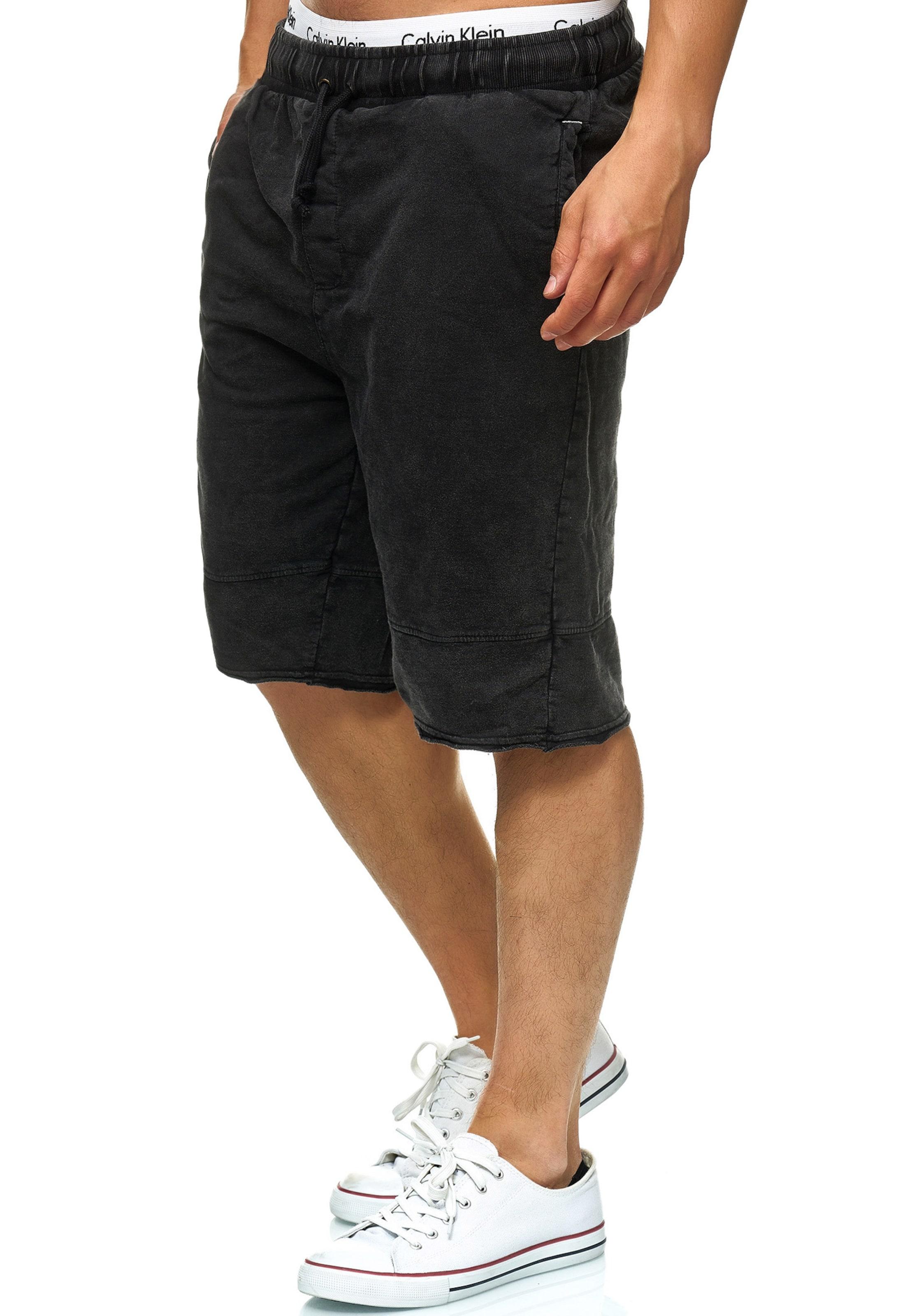 Anthrazit 'elgood Indicode Jeans shorts Sweat In ' exBQdoErCW