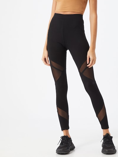 ABOUT YOU Leggings 'Rosa' in schwarz, Modelansicht