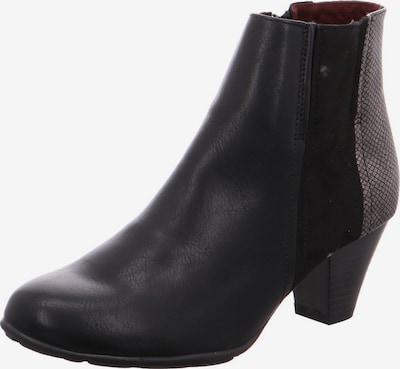Longo Stiefelette in schwarz / silber, Produktansicht
