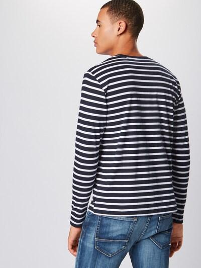 ESPRIT T-Shirt en bleu marine / blanc: Vue de dos
