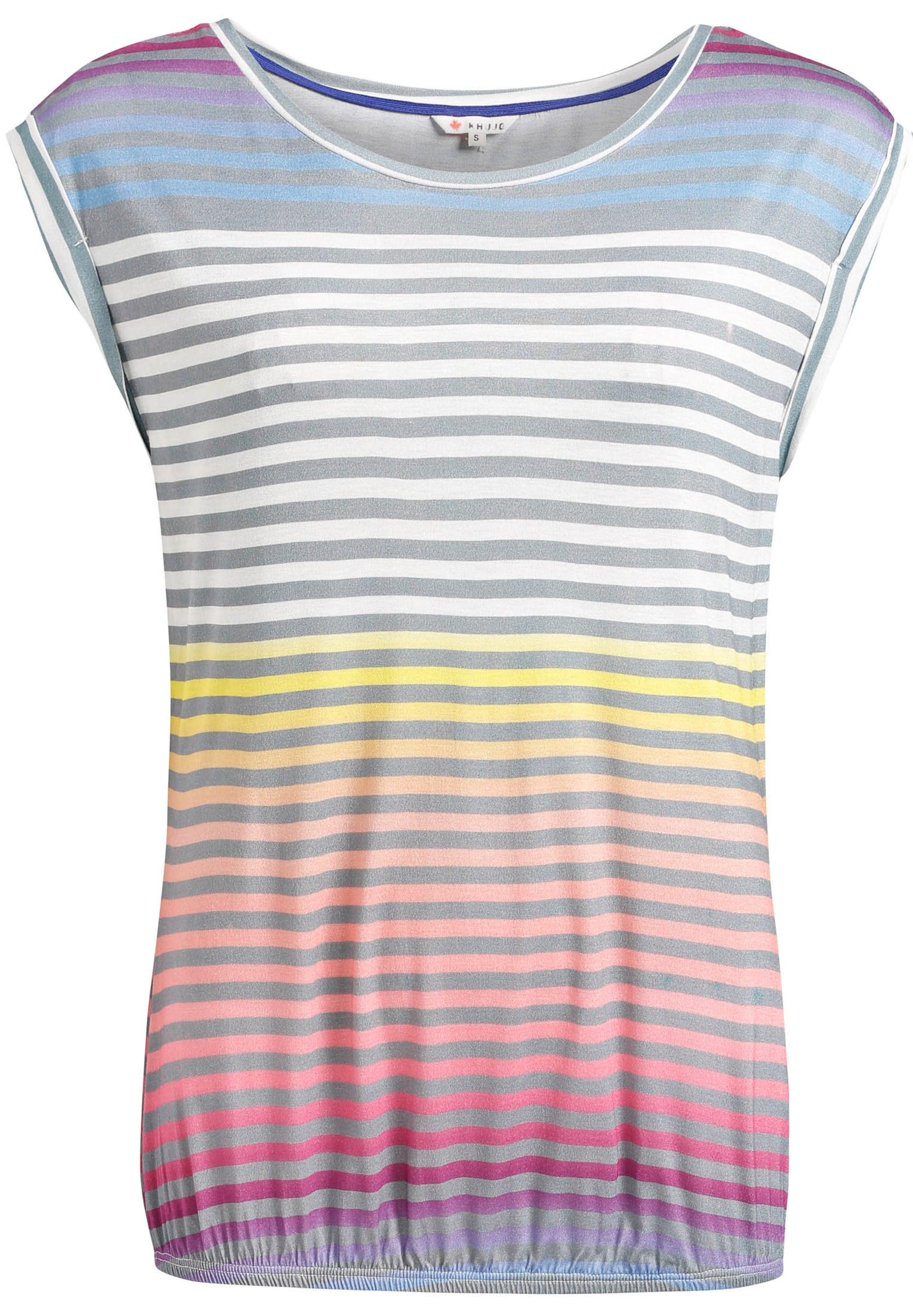 Shirt Gemengde 'pique Print' Kleuren Khujo In dCxreWBo