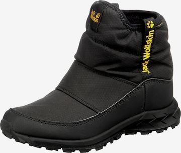 JACK WOLFSKIN Boots 'Woodland' in Schwarz