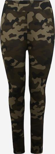 Urban Classics Curvy Leggings in khaki / oliv, Produktansicht