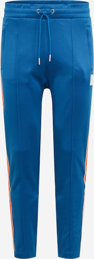 Pantaloni 'YEGOX' DIESEL pe albastru cer / roșu deschis / alb: Privire frontală
