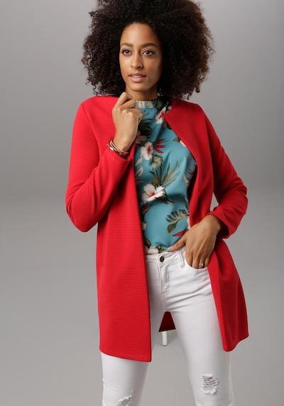 VIVANCE Blazer in rot, Modelansicht