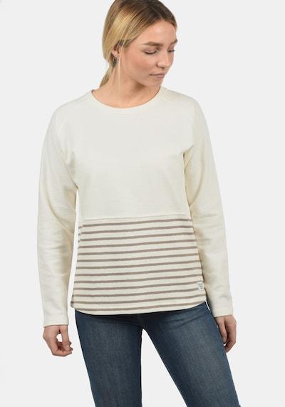 DESIRES Sweatshirt 'Piper' in creme / braun, Produktansicht