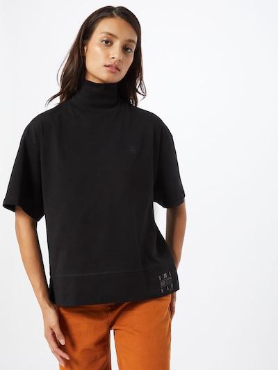 Tricou G-Star RAW pe negru: Privire frontală