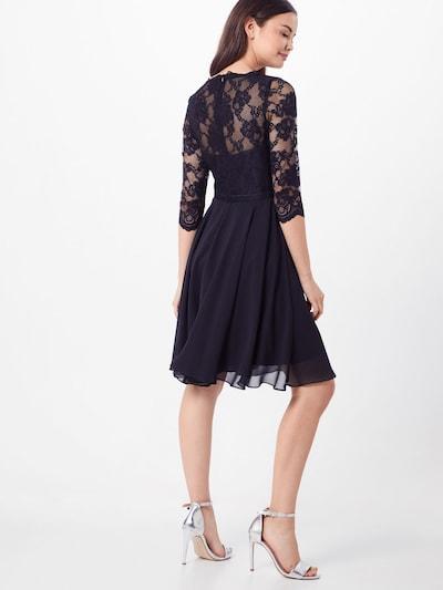 mascara Kleid in schwarz: Rückansicht