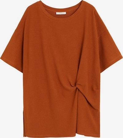 VIOLETA by Mango Shirt 'Imperia' in orange, Produktansicht