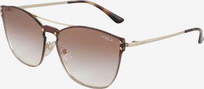 VOGUE Eyewear Sonnenbrille in braun / gold, Produktansicht