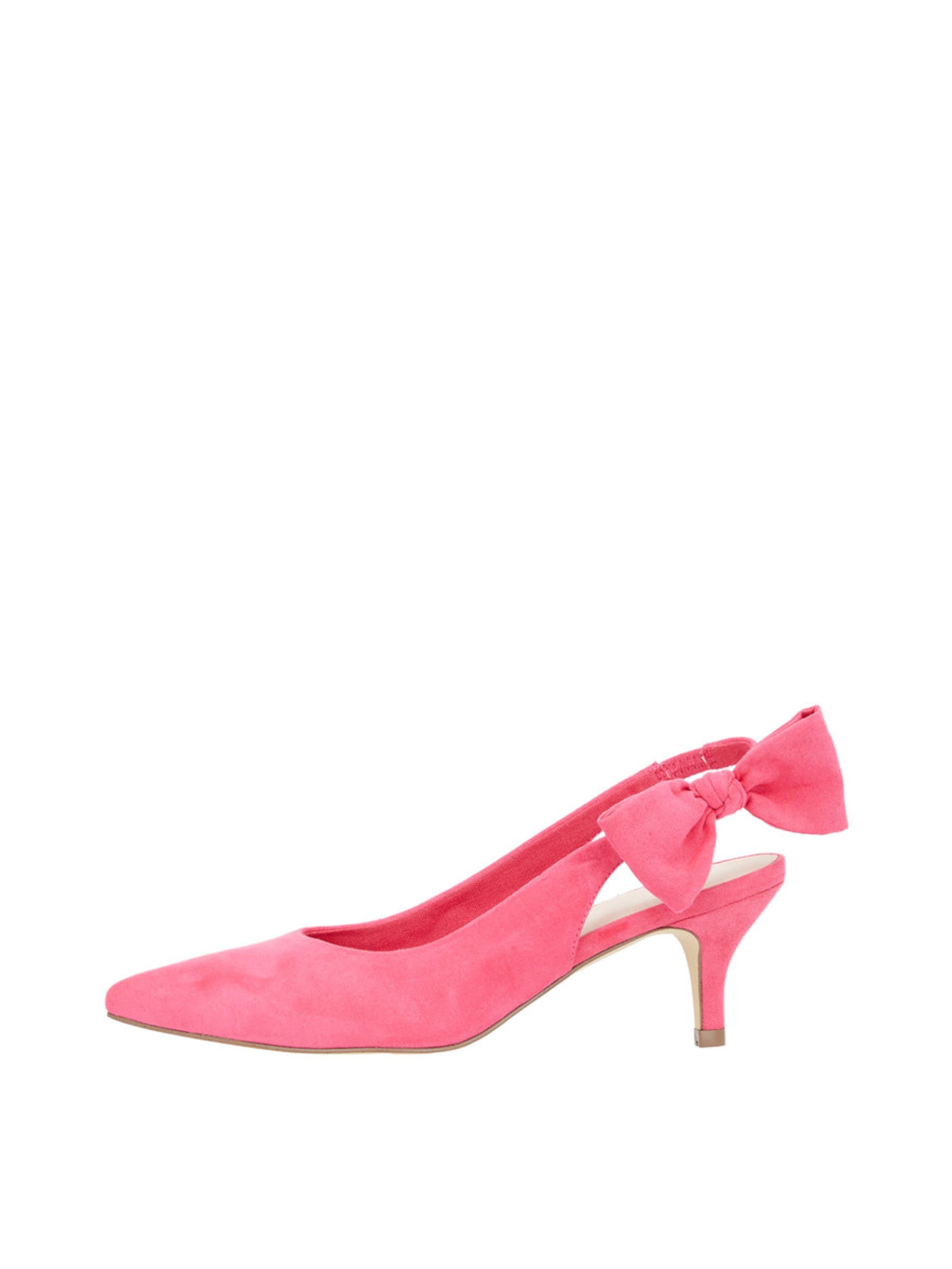 Bianco Schleifen Slingback Pumps Verschleißfeste billige Schuhe