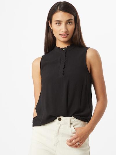 ONLY Blusentop 'MIMI' in schwarz, Modelansicht
