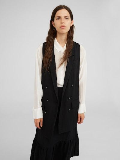 Blazer švarkas 'Danco' iš EDITED , spalva - juoda, Modelio vaizdas
