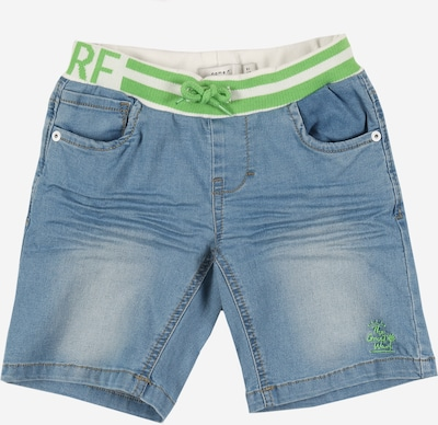 NAME IT Jeansshorts in blue denim, Produktansicht