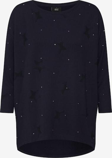 ONLY Bluzka sportowa 'RENE STAR 3/4 O-NECK SWT' w kolorze niebieska nocm, Podgląd produktu