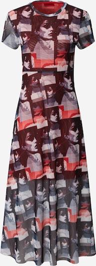 HUGO Kleid 'Nimana' in nachtblau / rot, Produktansicht