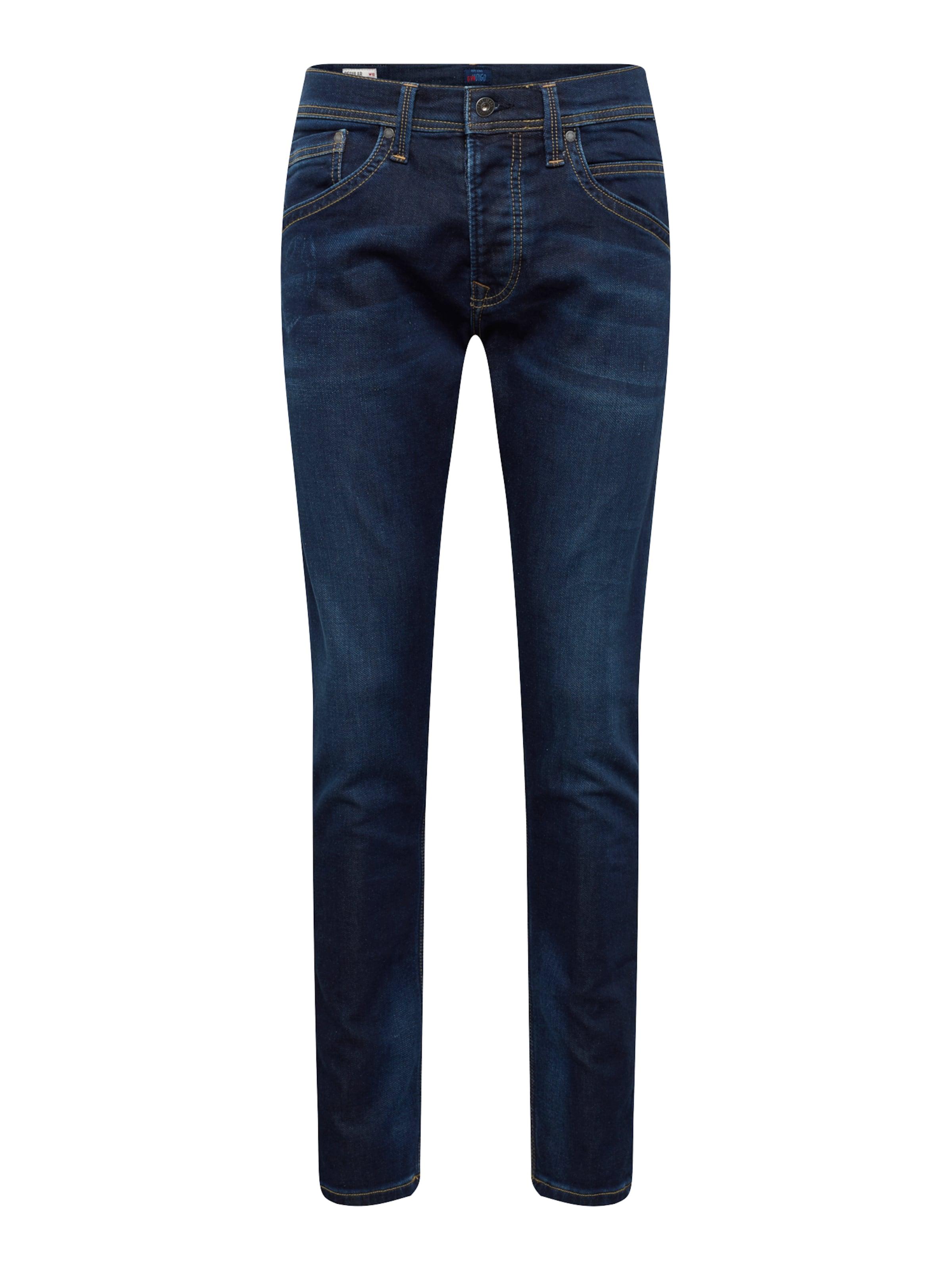 Denim Pepe 'track' Blue Jeans In O8vm0Nnw