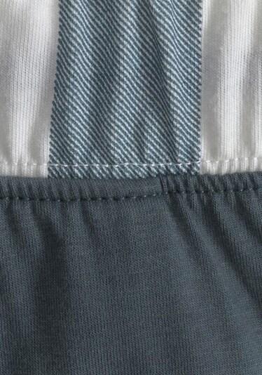 VIVANCE Pidžama 'Dreams' u bazalt siva / bijela, Pregled proizvoda