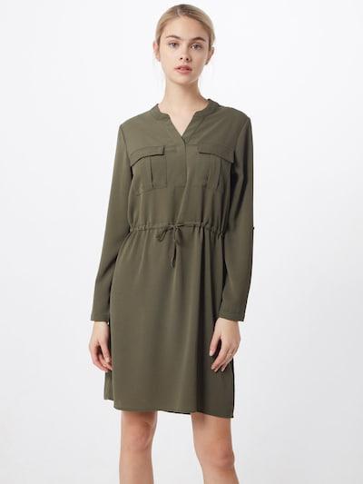 ONLY Sukienka koszulowa 'ONLWINNERVERTIGO' w kolorze zielonym, Podgląd na modelu(-ce)