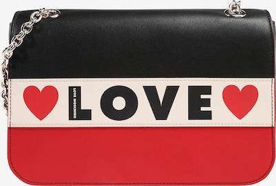 Love Moschino Taška přes rameno - béžová / červená / černá, Produkt