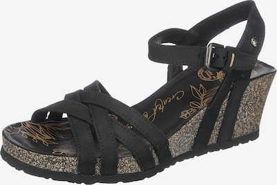 PANAMA JACK Sandalette in schwarz, Produktansicht