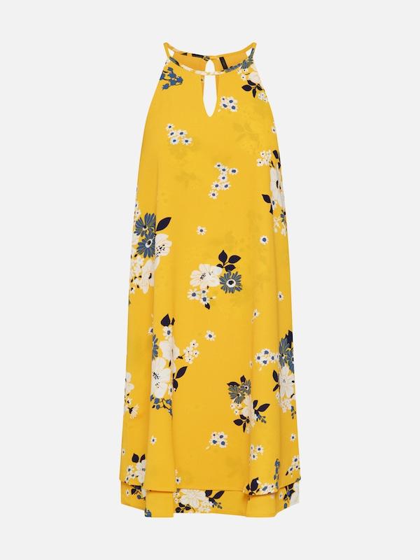 ONLY Kleid 'mariana' in gelb / mischfarben   ABOUT YOU