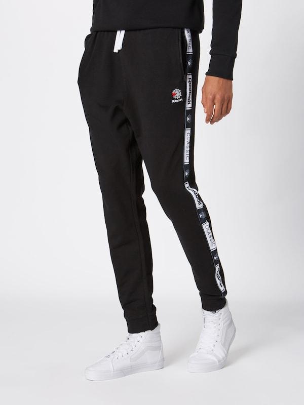 'cl Pantalon Pant' Taped En Reebok Classic Ft Noir FTl1KJc3