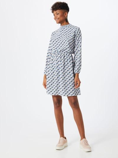Sublevel Kleid in blau / opal / rosa / weiß, Modelansicht