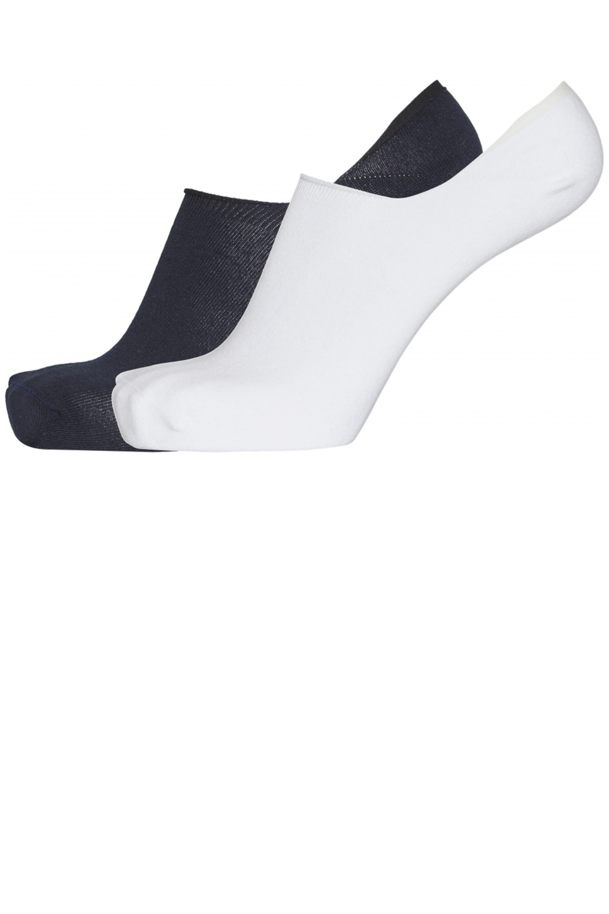 KnowledgeCotton Apparel Socken in schwarz / weiß Mehrere Farben pro Pack KCA_SS20M_2117_bright-white_38-42