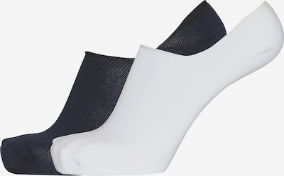 KnowledgeCotton Apparel Socken in schwarz / weiß, Produktansicht