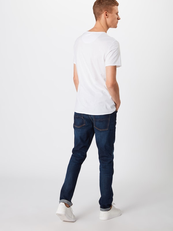 Nudie Jeans Co Jeans 'Lean Dean' in blue denim: Rückansicht
