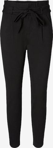 VERO MODA Pleat-front trousers 'EVA' in Black