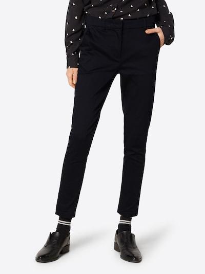 MOSS COPENHAGEN Chino 'FINJA' in schwarz, Modelansicht