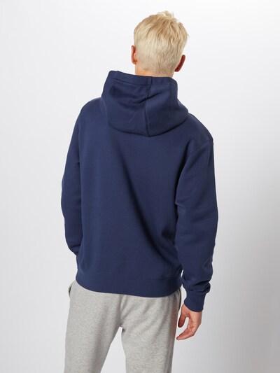 Nike Sportswear Sweatshirt 'Club' in de kleur Donkerblauw: Achteraanzicht