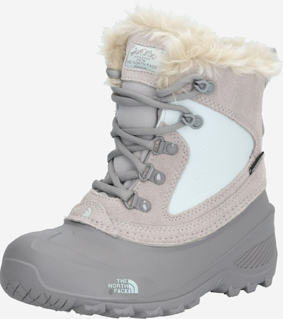 THE NORTH FACE Boots in hellgrau / weiß: Frontalansicht