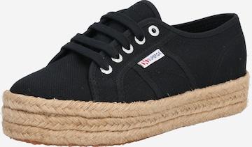 SUPERGA Sneaker 'Cotrop' in Schwarz