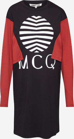 Suknelė 'Shizoku Sweatdress' iš McQ Alexander McQueen , spalva - raudona / juoda, Prekių apžvalga