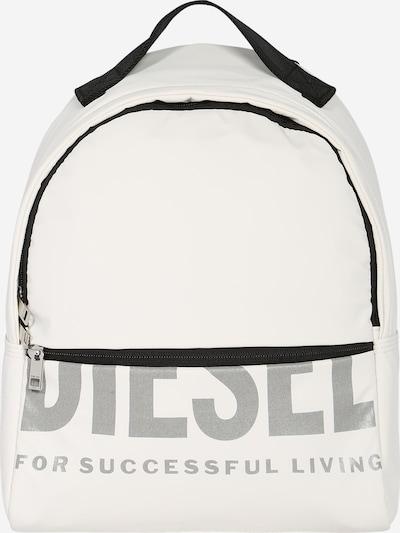 DIESEL Rucksack in schwarz / weiß, Produktansicht