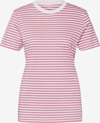 SELECTED FEMME T-Shirt in rosa / weiß, Produktansicht