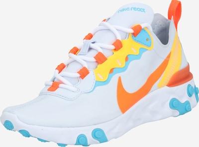 vegyes színek / fehér Nike Sportswear Rövid szárú edzőcipők 'React Element 55', Termék nézet