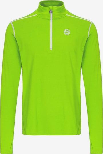 BIDI BADU Shirt 'Zac Tech' in neongrün, Produktansicht