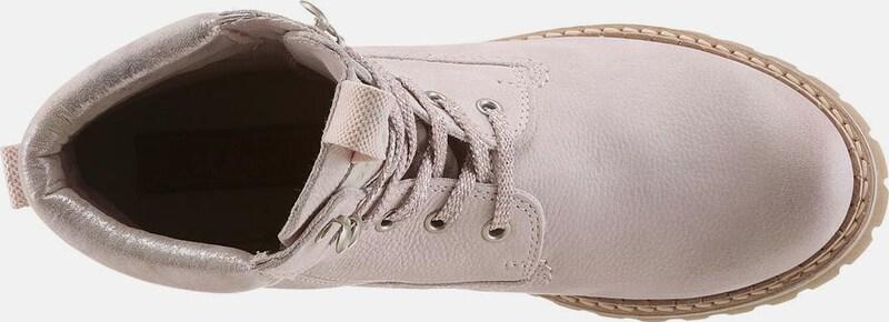s.Oliver RED LABEL | Schürstiefelette 'Worker' Schuhe Gut getragene Schuhe