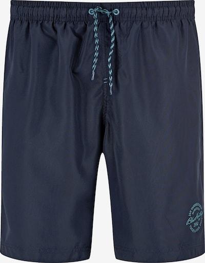 Jan Vanderstorm Shorts de bain 'Evander' en bleu nuit, Vue avec produit